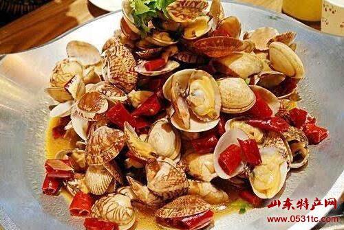 红岛蛤蜊美食,青岛特产,山东特产